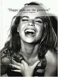 happy girls are prettiest